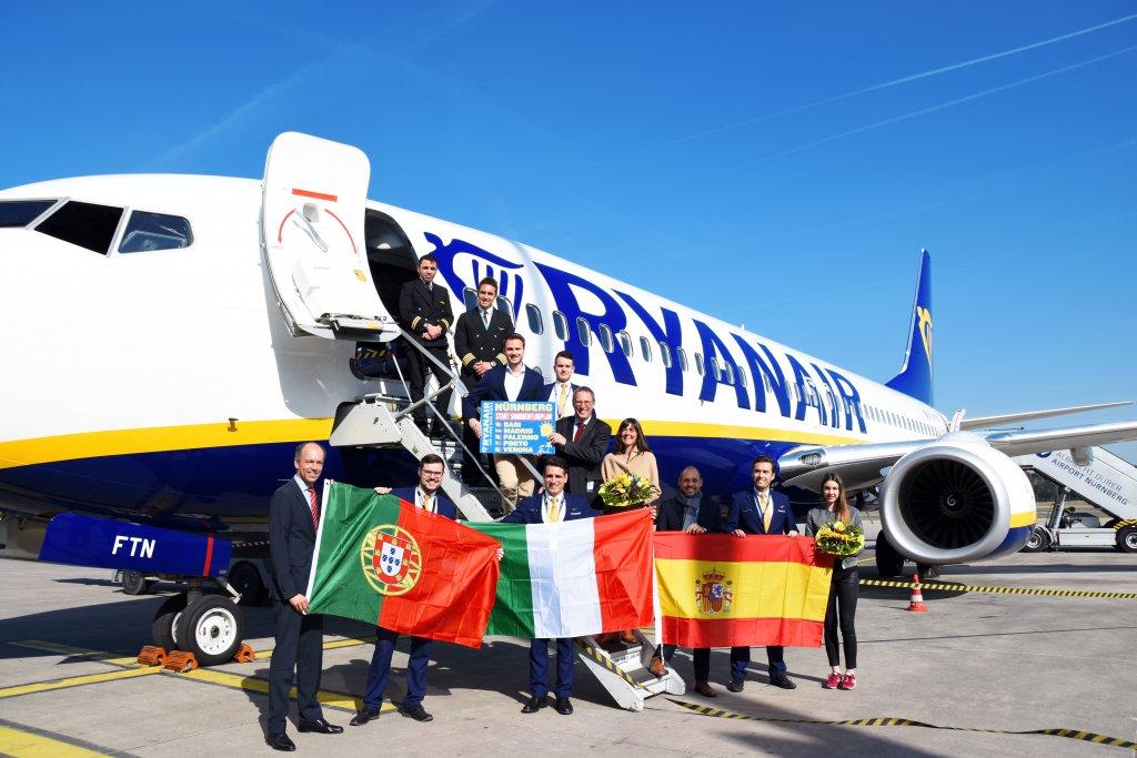 Ryanair Startet Fünf Neue Sommerstrecken Ab Nürnberg Ryanairs