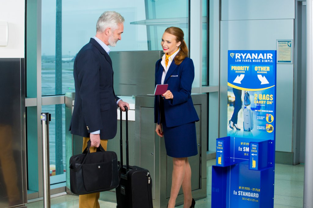 Ryanair Europe S No 1 Airline Today 18 Aug Again Urged Its Customers To Comply Fully With Cabin Bag Rules Which Are Being Repeatedly Flouted