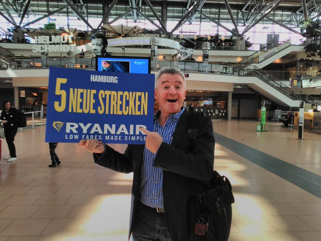 Ryanair Stellt Sommerflugplan 2018 Für Hamburg Vor 5 Neue Strecken