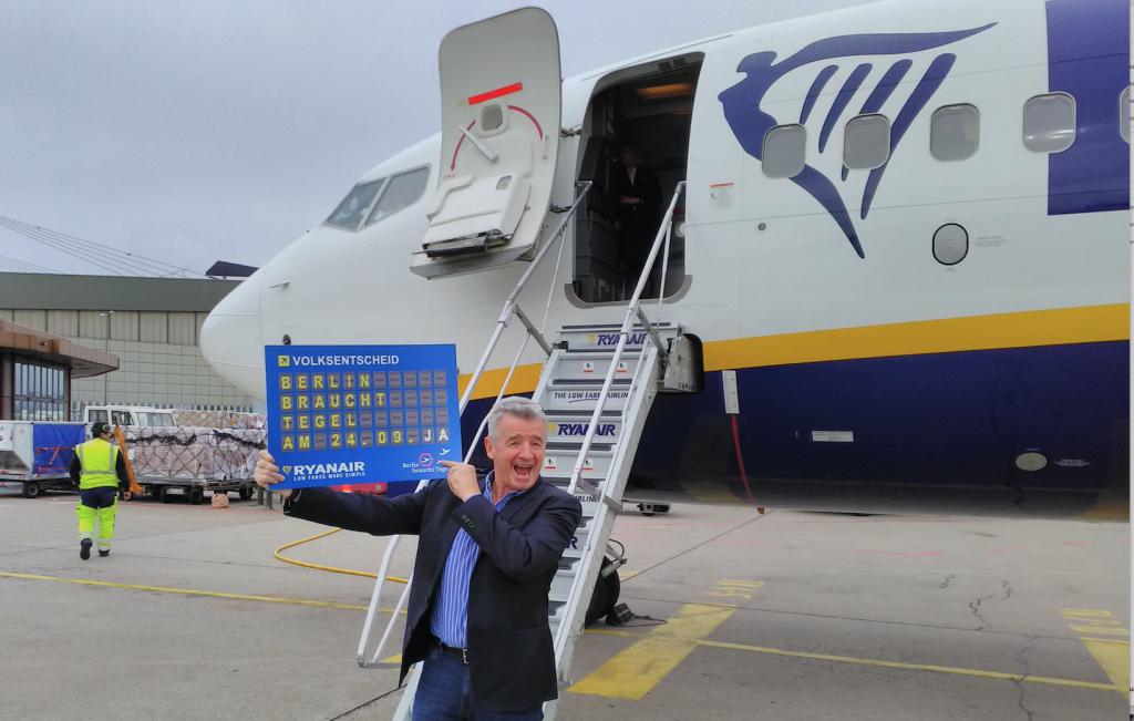 Ryanair Stellt Sommerflugplan 2018 Für Berlin Schönefeld Vor