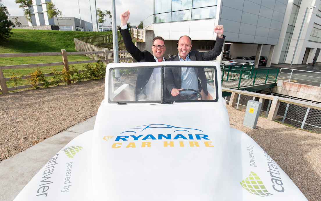 Ryanair Extends Partnership With Cartrawler For 2 More Years
