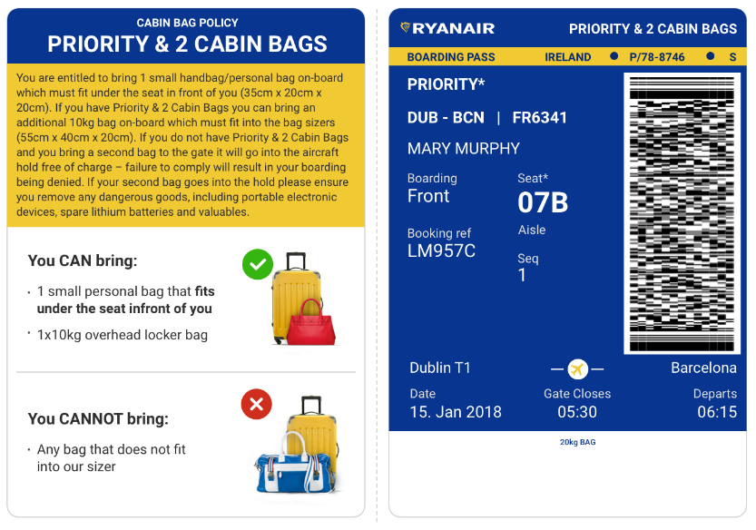 New Cabin Bag Policy Commences On Monday 15 Jan – All ...