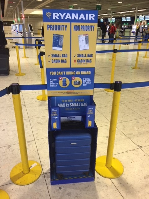 New Cabin Bag Policy Commences On Monday 15 Jan - Ryanair ...