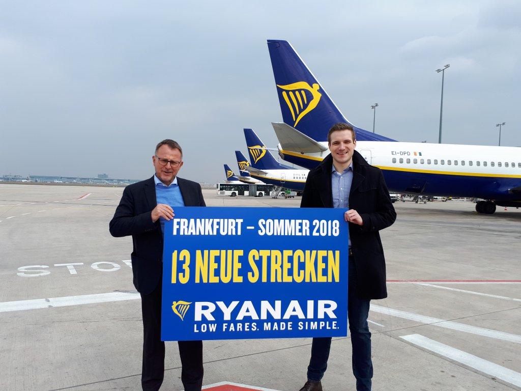 Ryanair Startet Neue Sommerstrecken Ab Frankfurt Am Main