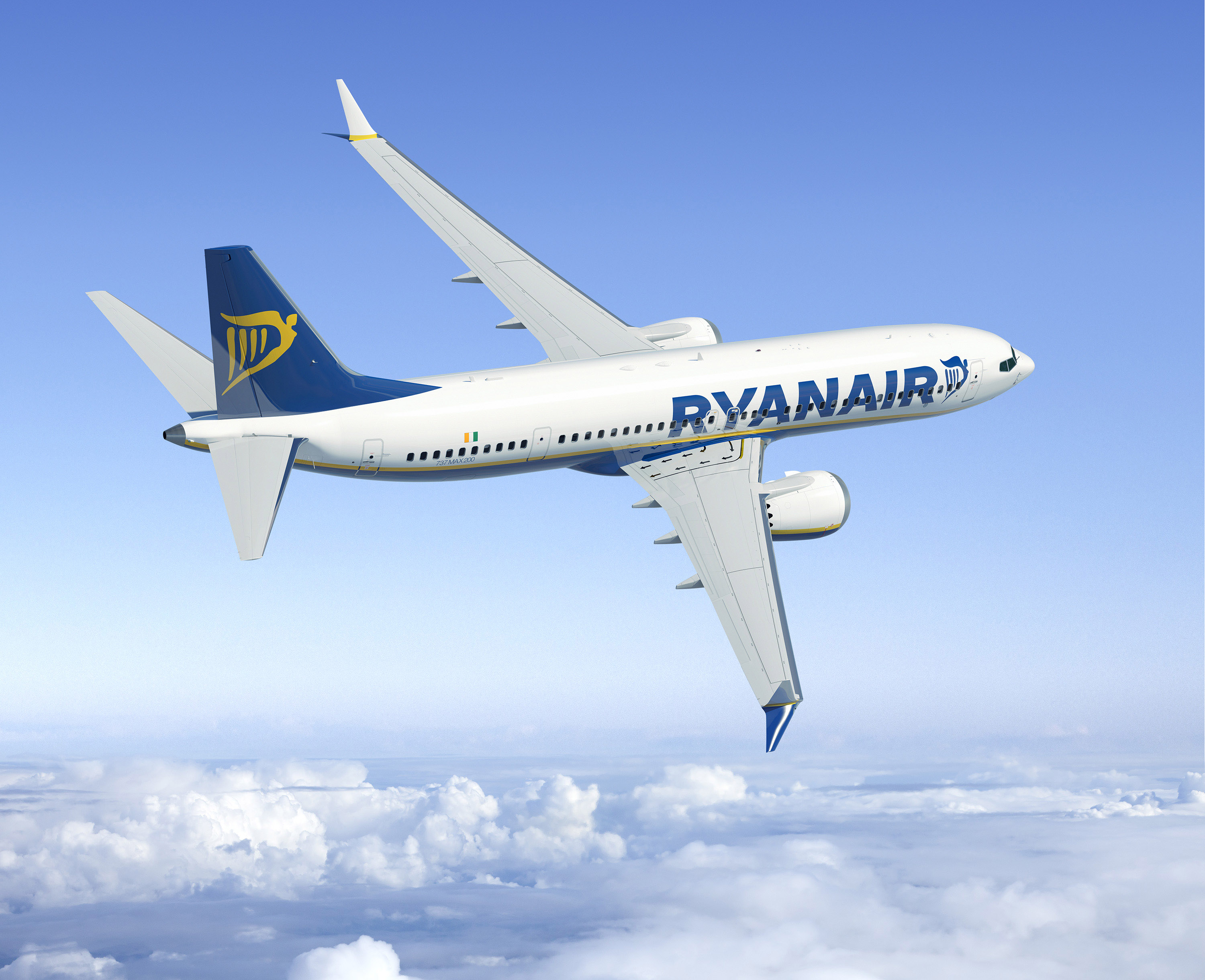 Ryanair Exercises 25 Boeing-Max-200 Options | Ryanair's Corporate