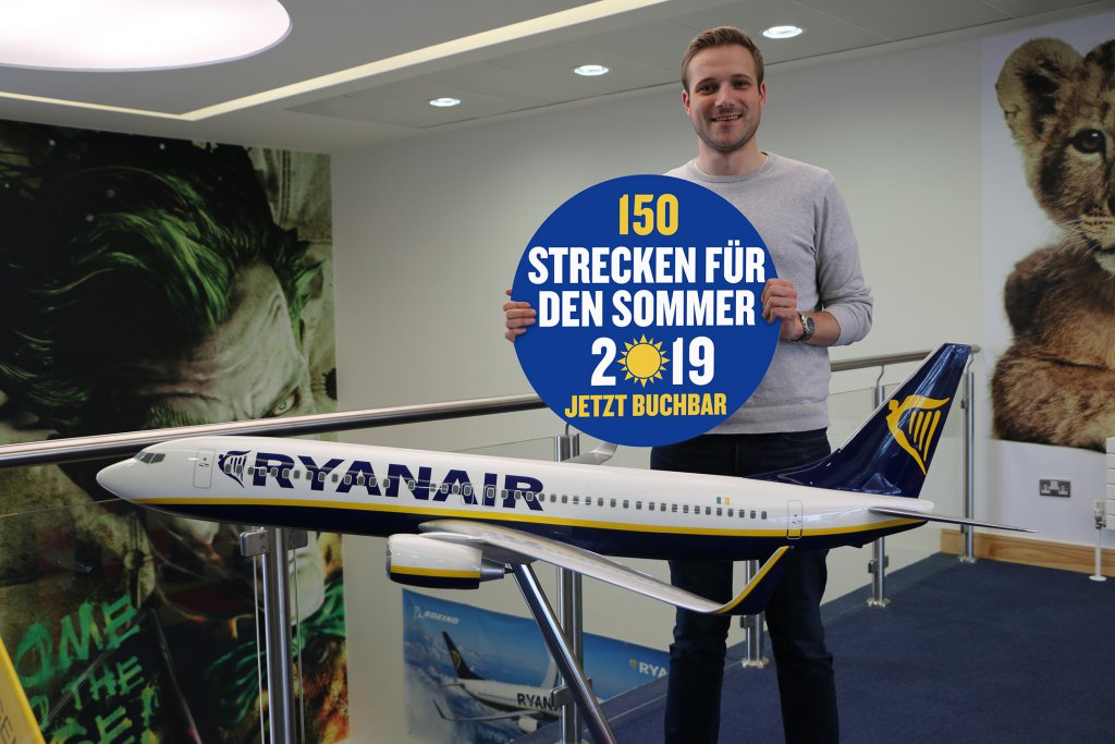 Ryanair Startet Sommerflugplan 2019 Früher Denn Je Ryanairs