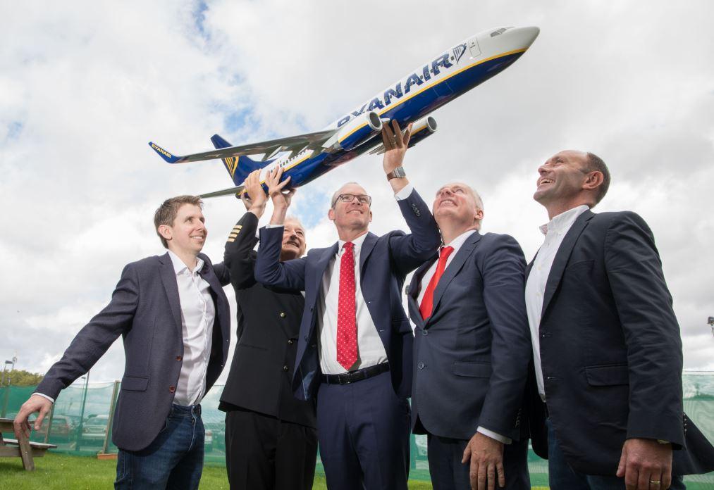 ryanair launches major pilot training programme in cork ryanair s