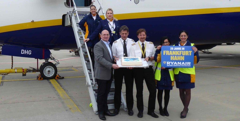 Ryanair Frankfurt Ankunft