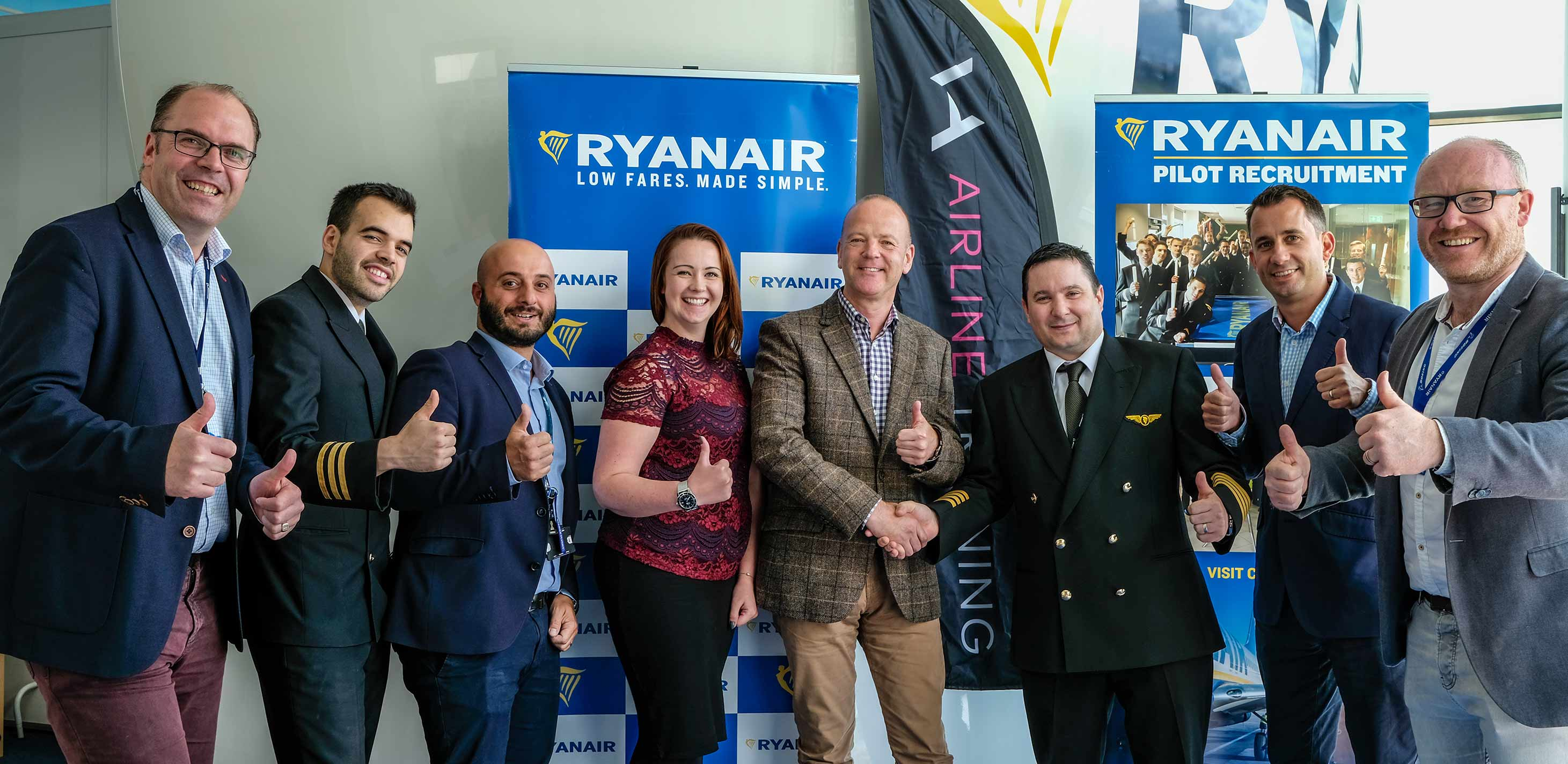 Ryanair Launches New Pilot Training Programme With VA Airline