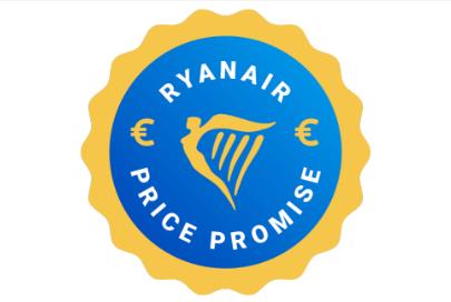 ryanair price promise badge