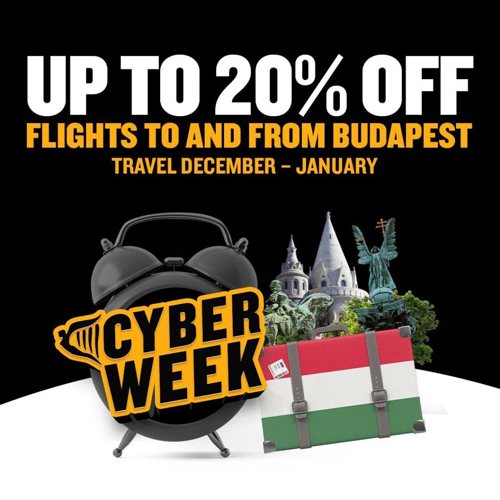 ryanair's 'cyber week' sale day 4: 20% off flights to